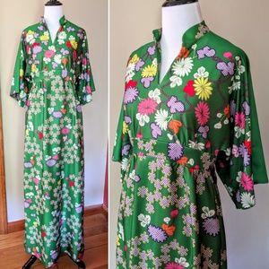 ♥️HP♥️ Vtg 60s Yves Jennet east meets west dress